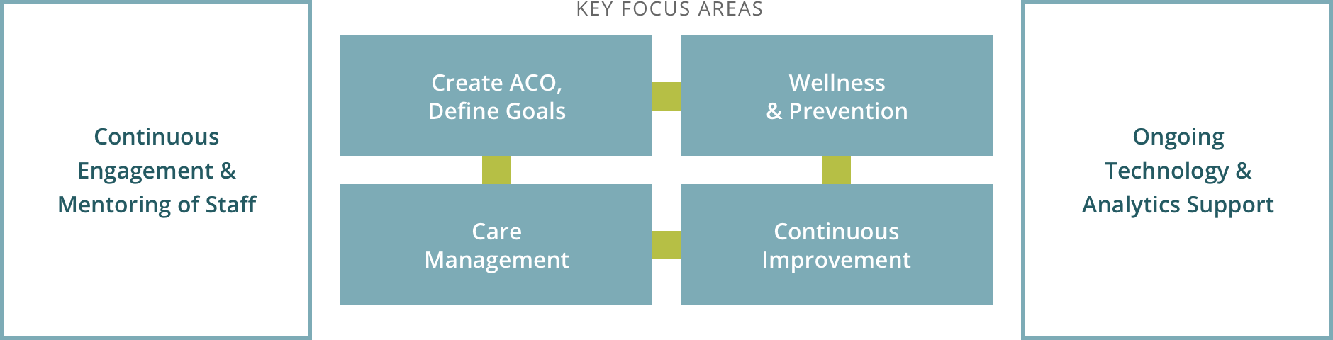 Caravan ACO Model and Key Focus Areas